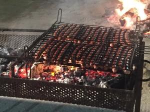 Producte local, protagonista del sopar. Foto: Equip De Voluntaris De Les Festes